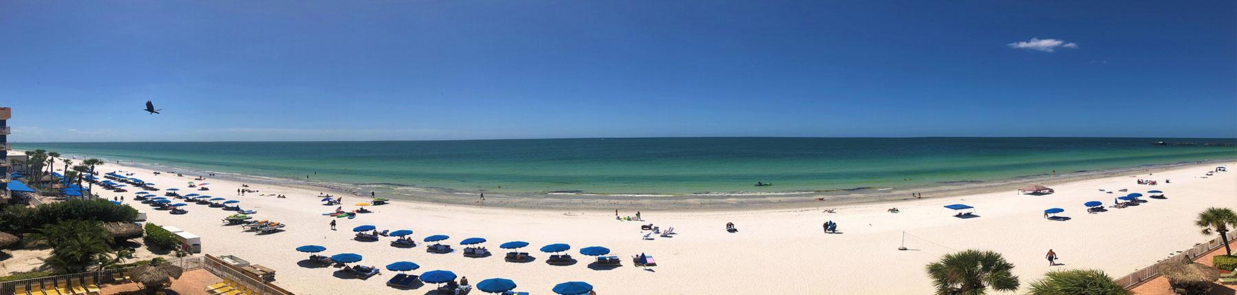 Beach Umbrellas along the Suncoast | Long Key Vacation Rentals