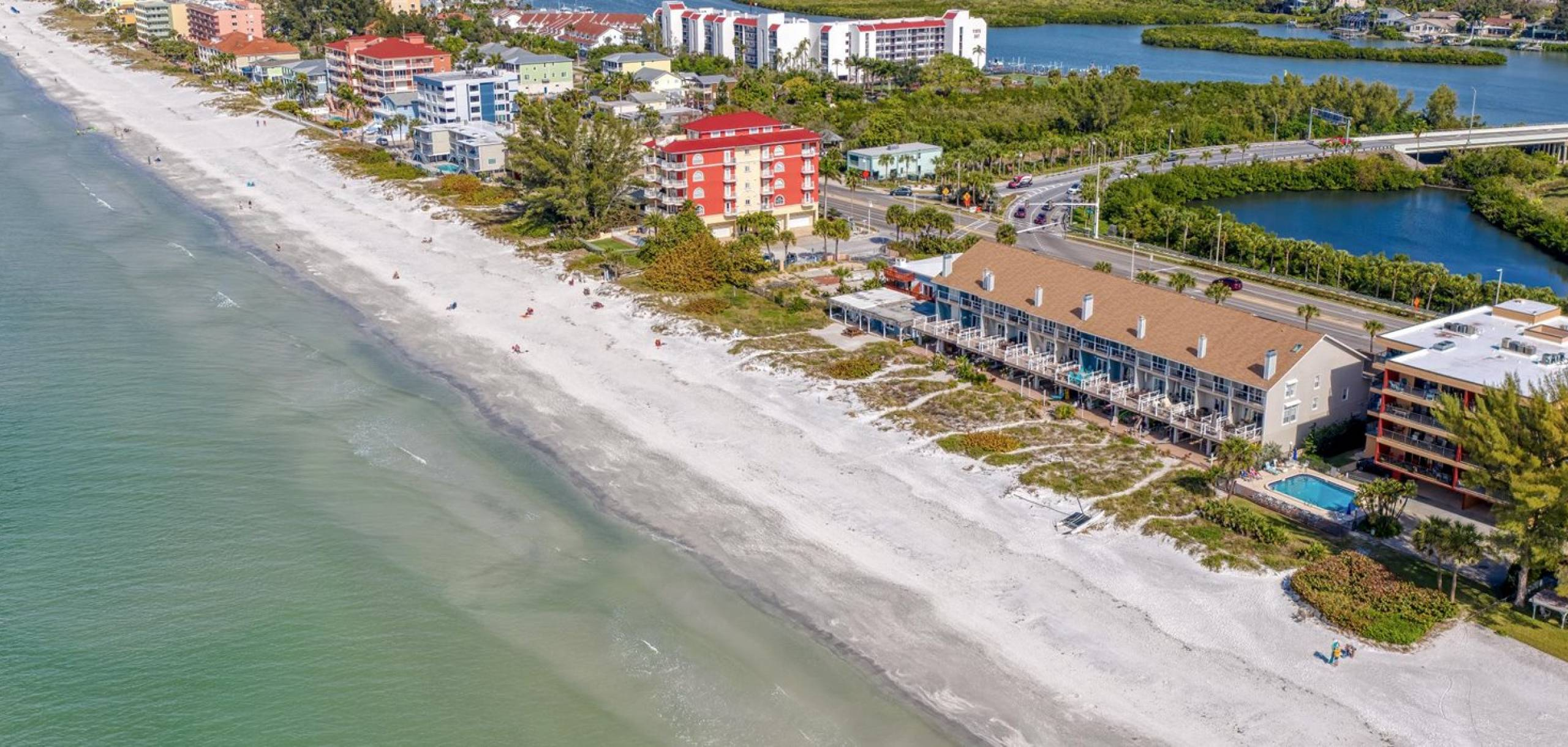 Indian Shores Beach Drone Picture