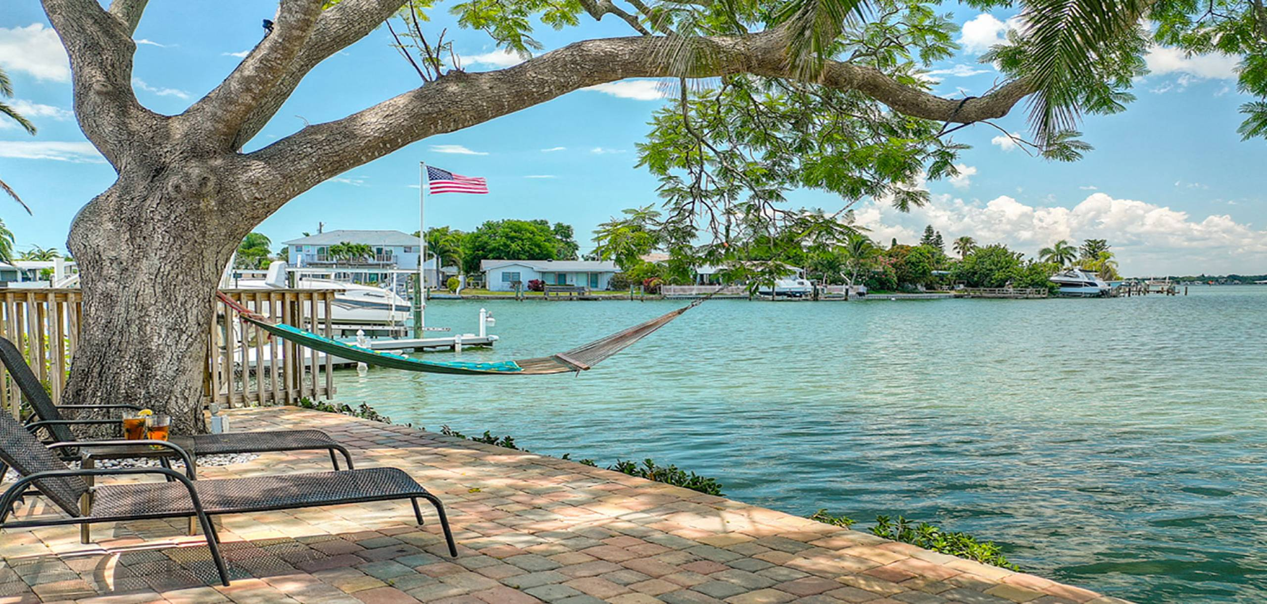 Hammock Over the Water | Long Key Vacation Rentals