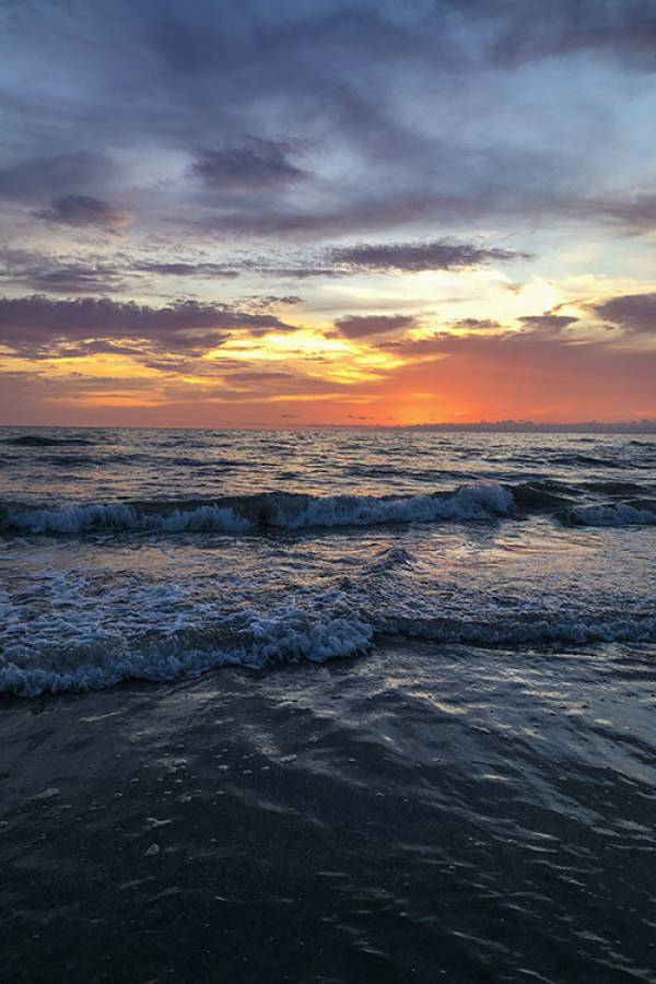 Golden Sunset at the Beach | Long Key Vacation Rentals